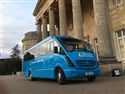 Our 33 Seater Outside The Luton Hoo