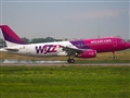 Wizz Air Plane Taking Off At Heathrow