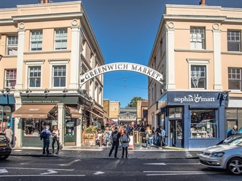 Greenwich Market and River Cruise