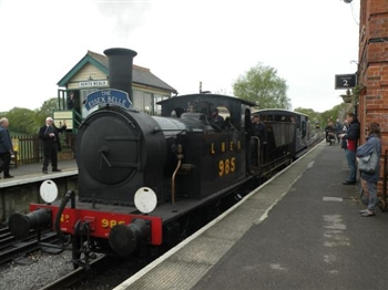 Epping and Ongar Railway and Fish and Chips